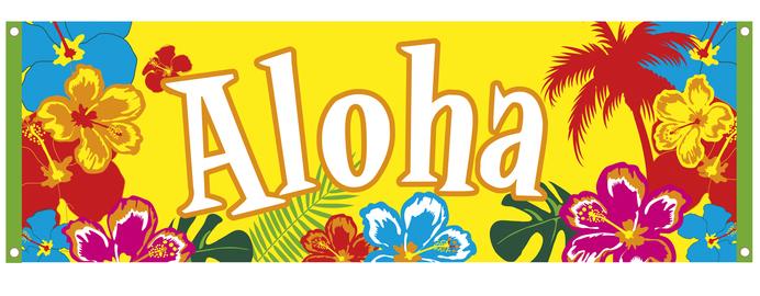 hawaii flamingo party beachparty deko teller servietten wimpelketten girlanden ebay. Black Bedroom Furniture Sets. Home Design Ideas
