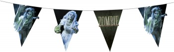Zombie Wimpelkette 4m Dekoration Halloween Party Grusel