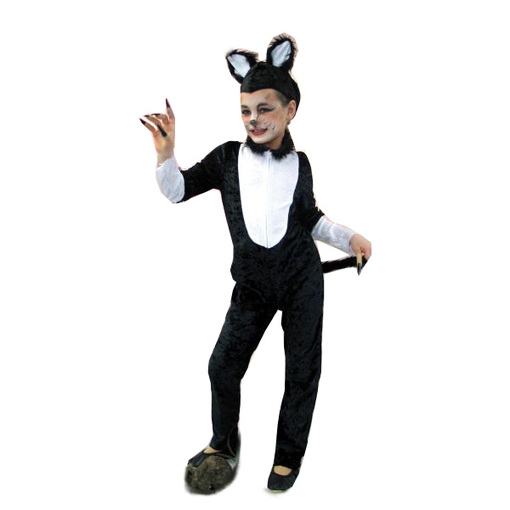 Katze Kater Kinder Kostüm Karneval Party Gr 116 Show 11825916