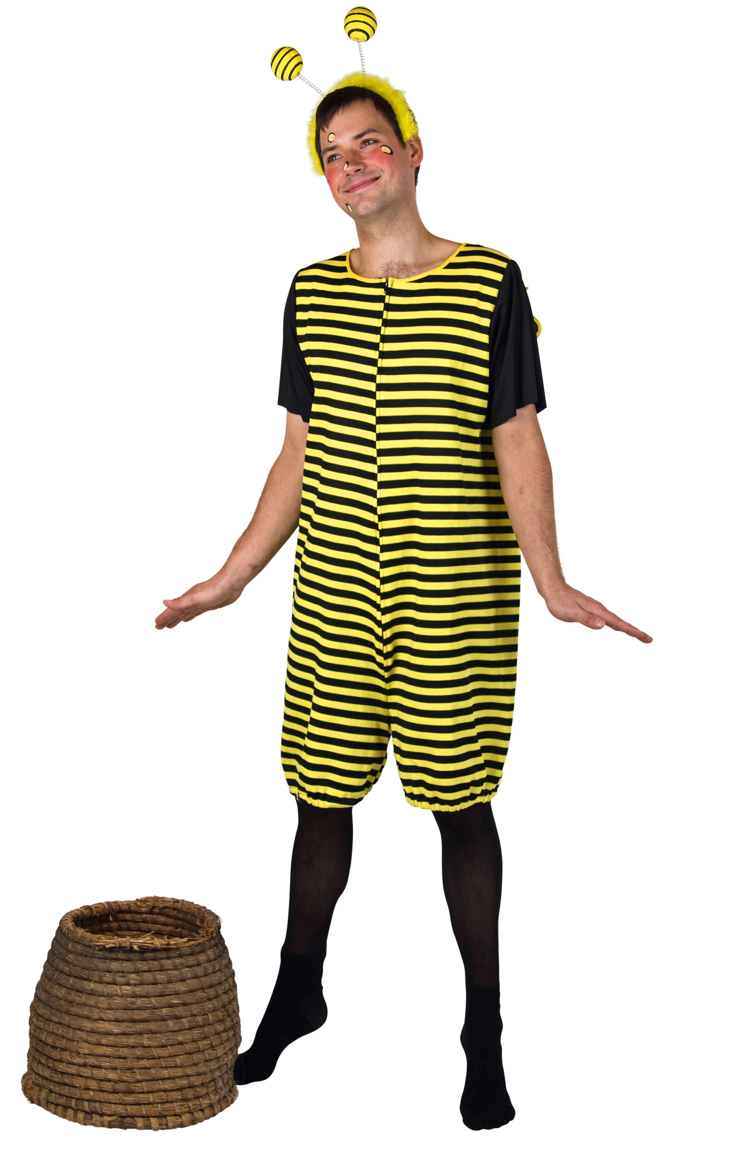 Gr Xl Biene Kostum Drohne Bienenkostum Herren Bienchen Karneval