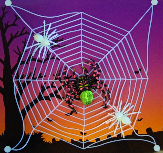 spinnennetz spinnengewebe dekoration halloween spinnennetze untersch modelle ebay. Black Bedroom Furniture Sets. Home Design Ideas