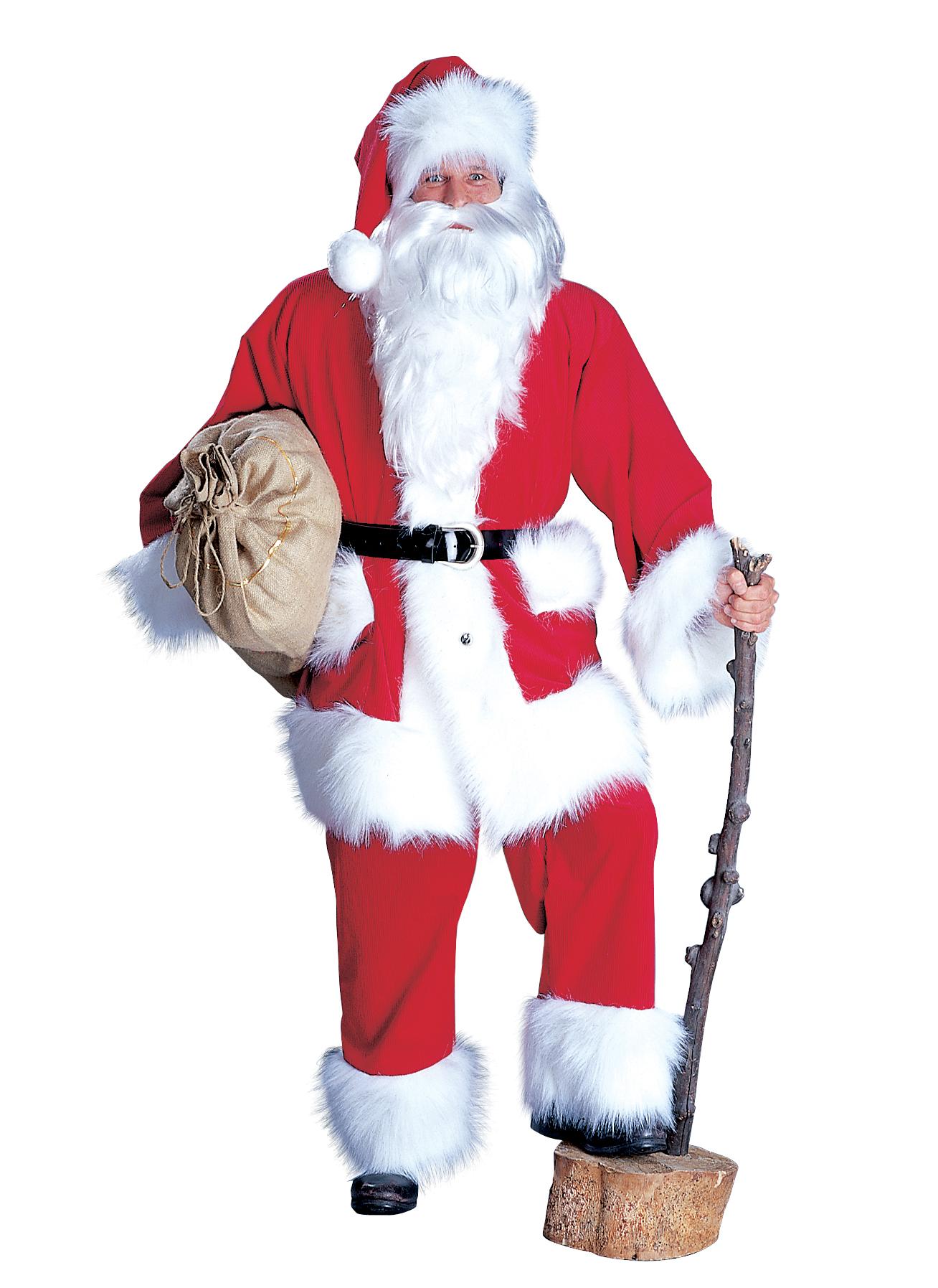 kordanzug weihnachtsmann anzug nikolaus weihnachten 4 teilig. Black Bedroom Furniture Sets. Home Design Ideas
