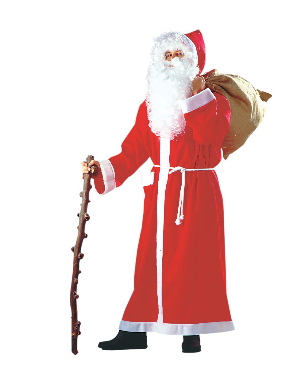 bodenlanger nikolausmantel nikolaus weihnachtsmann weihnachten. Black Bedroom Furniture Sets. Home Design Ideas