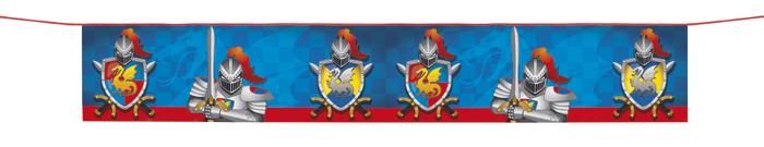 Ritter banner 175cm x 29cm mittelalter geburtstag dekoration for Dekoration 70iger jahre