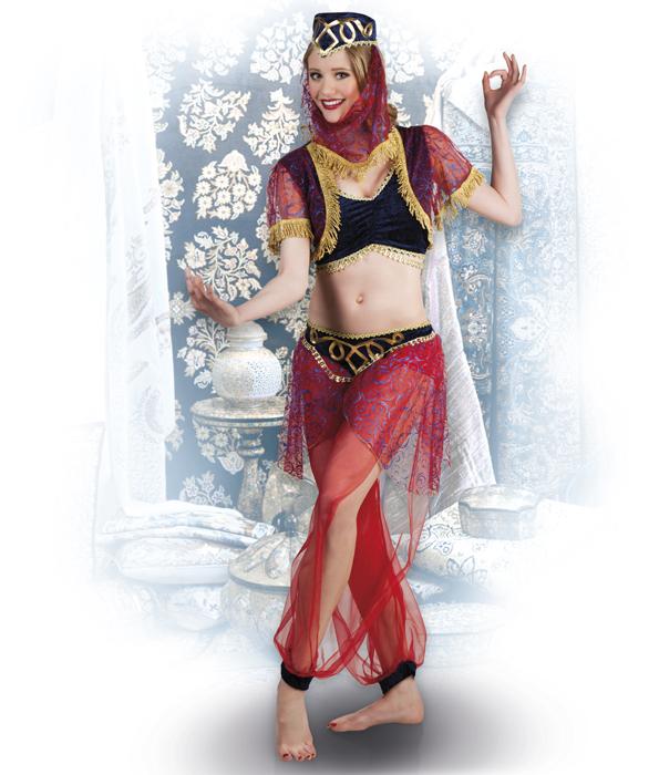 Arabische Bauchtanzerin Orient Kostum Karneval Fasching