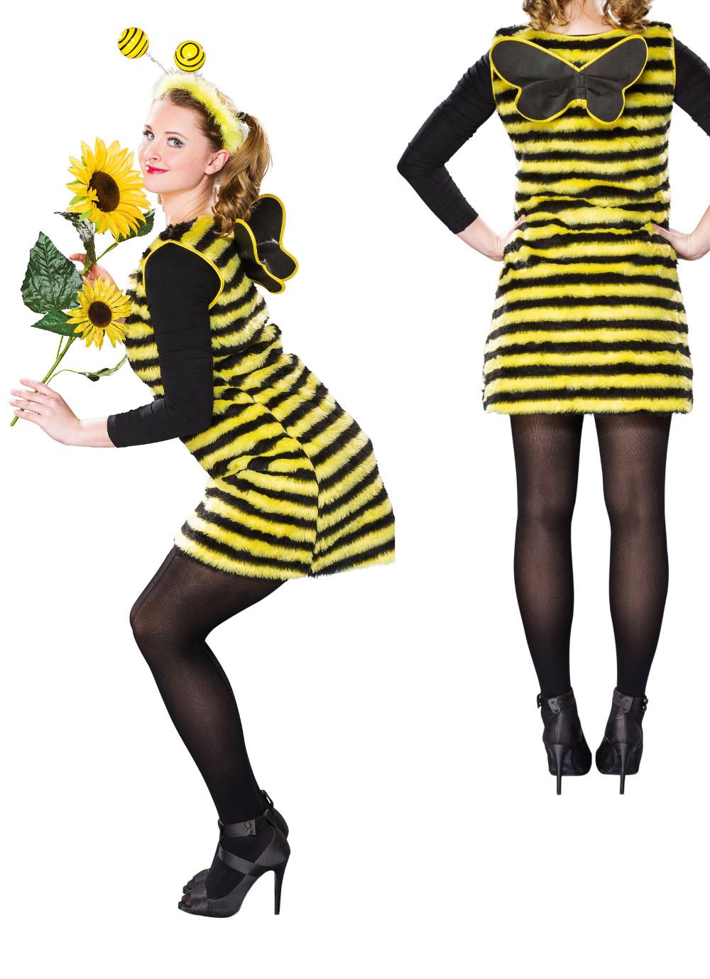 Biene Kostum Bienchen Karneval Fasching Gr 36 38