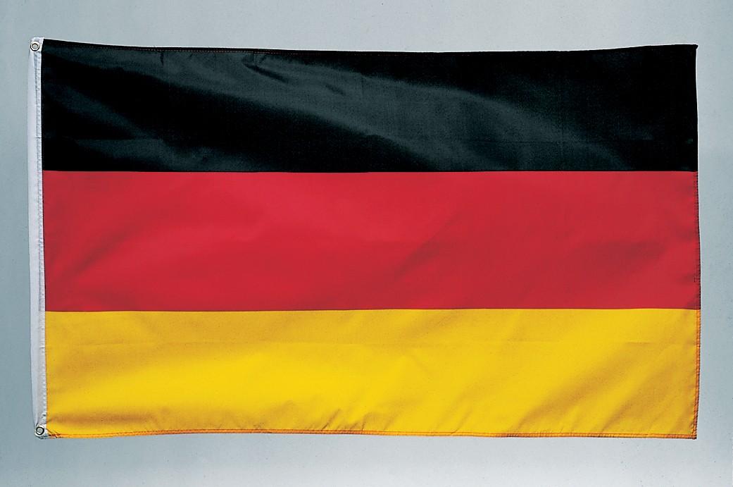 deutschland fahne flagge mit 2 sen 90 cm x 150 cm. Black Bedroom Furniture Sets. Home Design Ideas