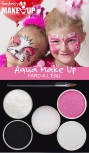 Aqua Make-Up Set Prinzessin pink Schminke Kinderschminke Karneval
