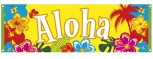 Aloha Banner Beachparty Hawaii 220 x 74 cm Strandparty Deko