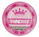Pappteller Princess 6er Pack Party Feier Geburtstag Prinzessin