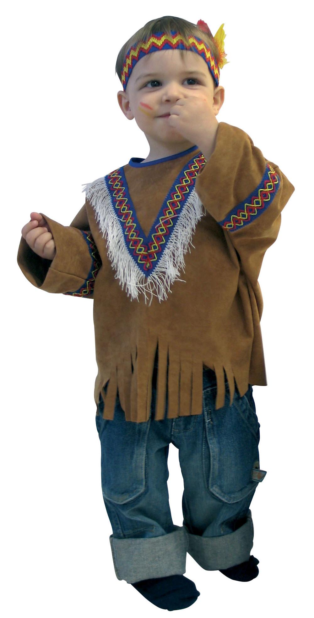 Indianer Kostum Western Karneval Kinder Gr 86 92 Ebay