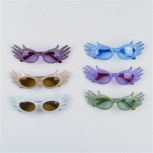Retro Disco Brille Hippie Disco Man Karneval Fasching